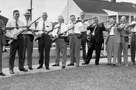 White men with guns